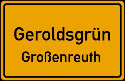 Straßenverzeichnis Geroldsgrün Großenreuth