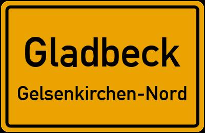 Straßenverzeichnis Gladbeck Gelsenkirchen-Nord