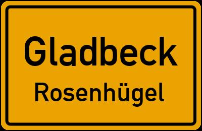 Straßenverzeichnis Gladbeck Rosenhügel