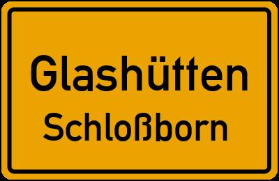 Amselweg in GlashüttenSchloßborn