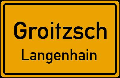 Langenhain Groitzsch Langenhain