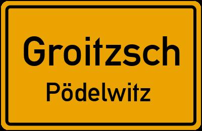 an Der B 176 Groitzsch Pödelwitz