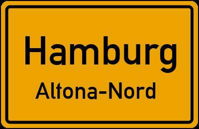 Straßenverzeichnis Hamburg Altona-Nord