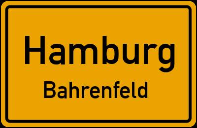 Straßenverzeichnis Hamburg Bahrenfeld