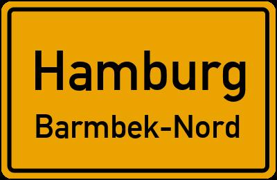 Straßenverzeichnis Hamburg Barmbek-Nord