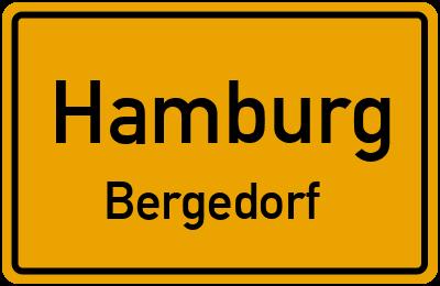 Tonkuhlenweg in HamburgBergedorf