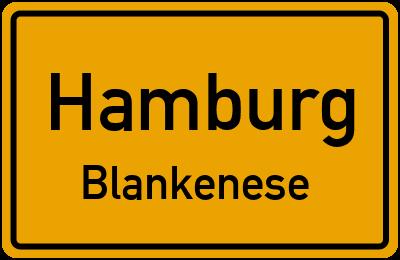 Straßenverzeichnis Hamburg Blankenese