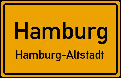 Straßenverzeichnis Hamburg Hamburg-Altstadt