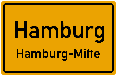 Washingtonallee in HamburgHamburg-Mitte