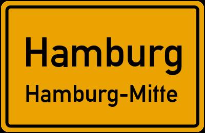 Ortsschild Hamburg Hamburg-Mitte