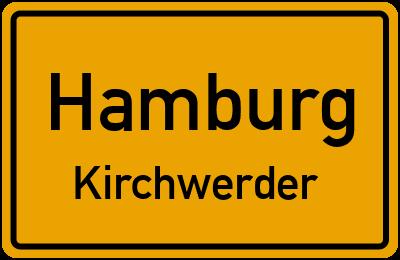 Ortsschild Hamburg Kirchwerder