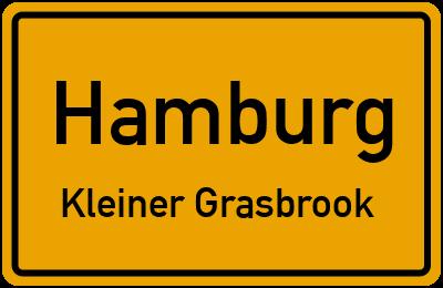 Ortsschild Hamburg Kleiner Grasbrook