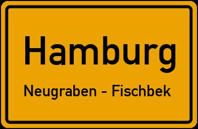 Straßenverzeichnis Hamburg Neugraben - Fischbek