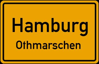 Ortsschild Hamburg Othmarschen