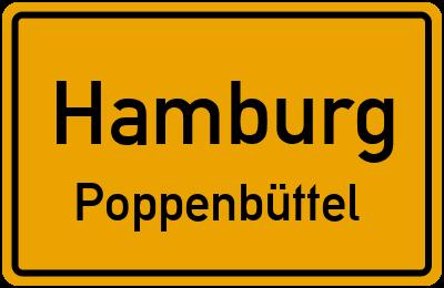 Straßenverzeichnis Hamburg Poppenbüttel