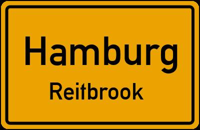 Ortsschild Hamburg Reitbrook