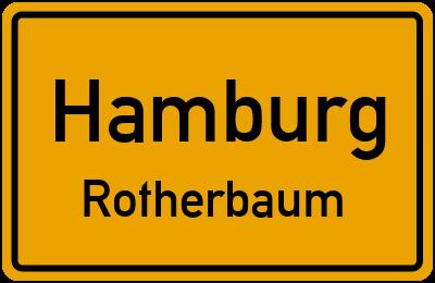 Straßenverzeichnis Hamburg Rotherbaum