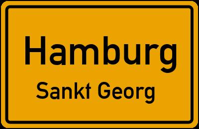 Straßenverzeichnis Hamburg Sankt Georg