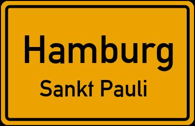 Straßenverzeichnis Hamburg Sankt Pauli