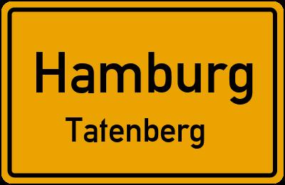 Ortsschild Hamburg Tatenberg