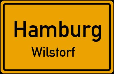 Ortsschild Hamburg Wilstorf