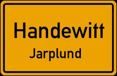 Kiebitzweg in HandewittJarplund
