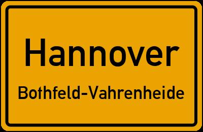 Zwickauer Straße in HannoverBothfeld-Vahrenheide
