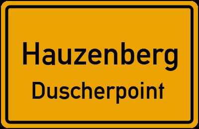 Ortsschild Hauzenberg Duscherpoint
