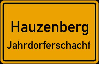 Straßenverzeichnis Hauzenberg Jahrdorferschacht