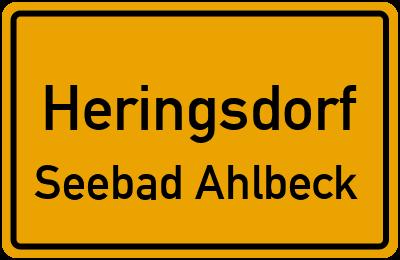 Bergstraße in HeringsdorfSeebad Ahlbeck