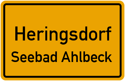 Talstraße in HeringsdorfSeebad Ahlbeck