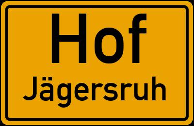 Hauptstraße in HofJägersruh