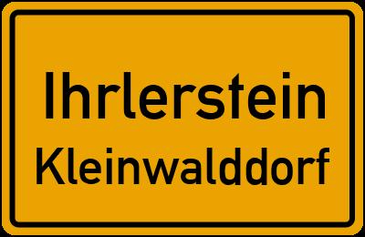 Straßenverzeichnis Ihrlerstein Kleinwalddorf