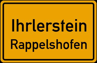 Straßenverzeichnis Ihrlerstein Rappelshofen