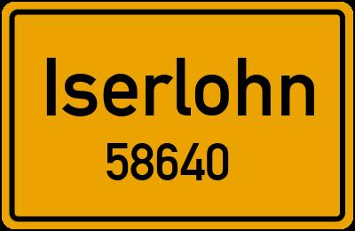 58640 Iserlohn