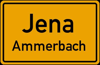 Ortsschild Jena Ammerbach