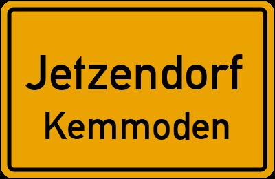 Ortsschild Jetzendorf Kemmoden
