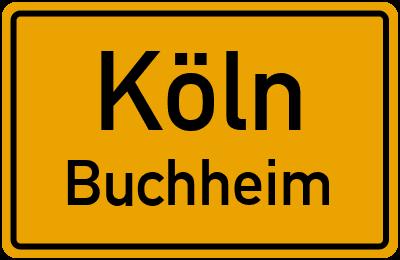 Straßenverzeichnis Köln Buchheim