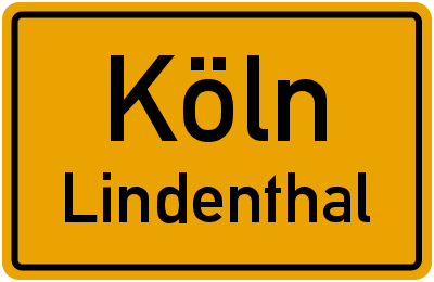 Fuchsweg in KölnLindenthal