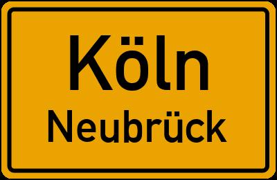 Straßenverzeichnis Köln Neubrück