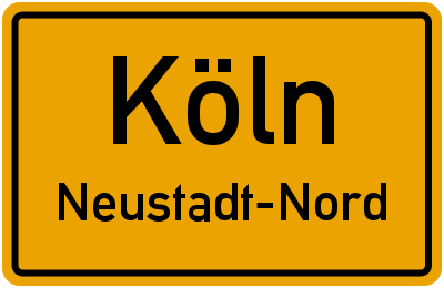 Straßenverzeichnis Köln Neustadt-Nord