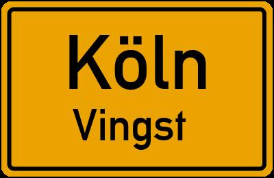 Straßenverzeichnis Köln Vingst