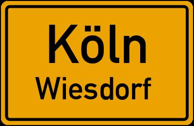 Straßenverzeichnis Köln Wiesdorf