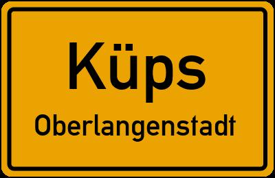 Kellerhaus in KüpsOberlangenstadt