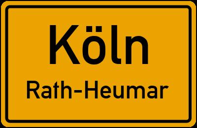 Ortsschild Köln Rath-Heumar