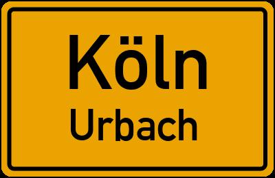 Straßenverzeichnis Köln Urbach