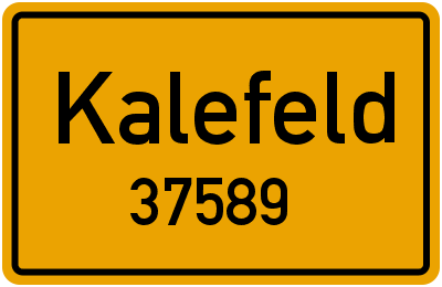 37589 Kalefeld