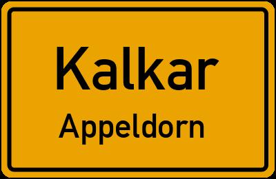 Heinrich-Eger-Straße in KalkarAppeldorn