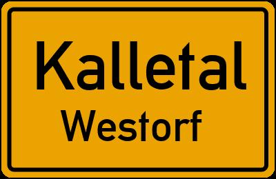 Amselweg in KalletalWestorf