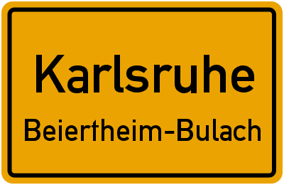 Karlsruhe Beiertheim-Bulach